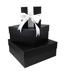 onyx embossed rigid boxes